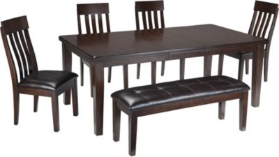 Ashley Haddigan 6 Piece Dining Set
