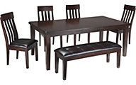 Ashley Haddigan 6-Piece Dining Set