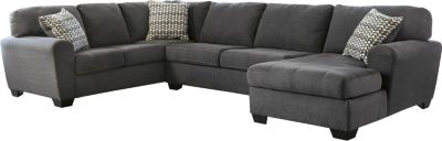 Ashley Sorenton Right-Side Chaise 3-Piece Sectional