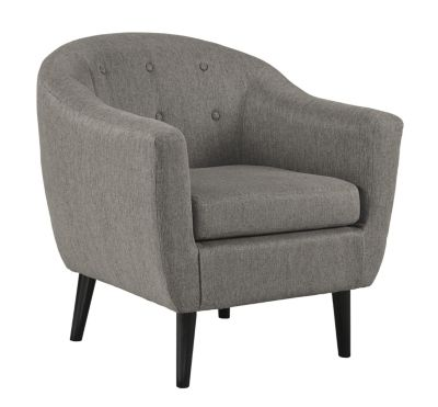Ashley Klorey Charcoal Barrel Accent Chair