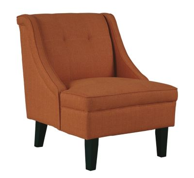 Ashley Clarinda Orange Accent Chair
