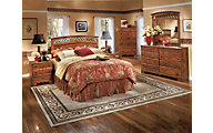 Ashley Timberline 4-Piece Queen Headboard Bedroom Set