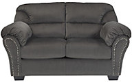 Ashley Kinlock Charcoal Loveseat