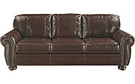 Ashley Banner Leather Sofa