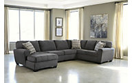 Ashley Sorenton Left-Side Chaise 3-Piece Sectional