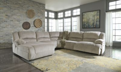 Ashley Toletta 5-Piece Left-Side Chaise Sectional