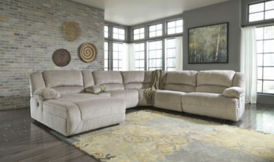 Ashley Toletta 6-Piece Left-Side Chaise Sectional