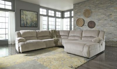 Ashley Toletta 5-Piece Right-Side Chaise Power Sectional