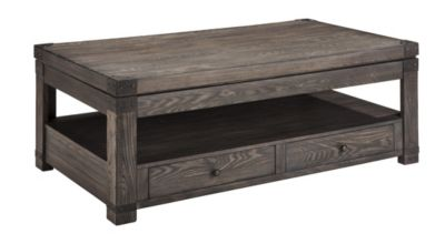 Merveilleux Ashley Burladen Lift Top Coffee Table