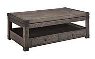 Ashley Burladen Lift-Top Coffee Table