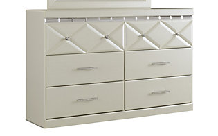 Ashley Dreamur White Dresser