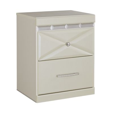 Ashley Dreamur White Nightstand