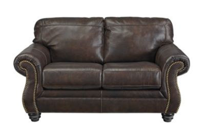 Ashley Bristan Leather Loveseat