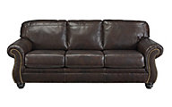 Ashley Bristan Leather Sofa