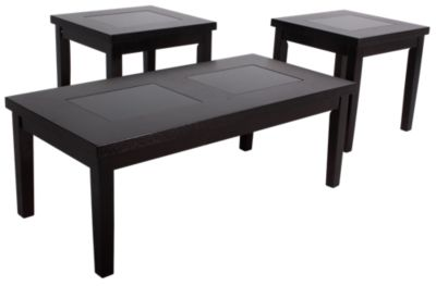 Ashley Denja Coffee Table & 2 End Tables