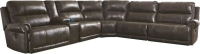 Ashley Dak 6-Piece Power Reclining Sectional