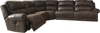 Ashley Luttrell 5-Piece Power Recline Sectional