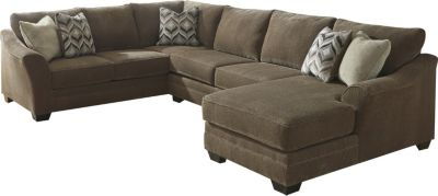 Aspen Justyna 3-Piece Right-Side Chaise Sectional