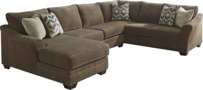 Ashley Justyna 3-Piece Left-Side Chaise Sectional