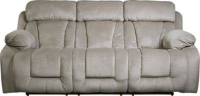Ashley Stricklin Gray Reclining Sofa