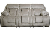 Ashley Stricklin Gray Power Reclining Sofa
