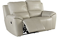 Ashley Valeton Leather Reclining Loveseat