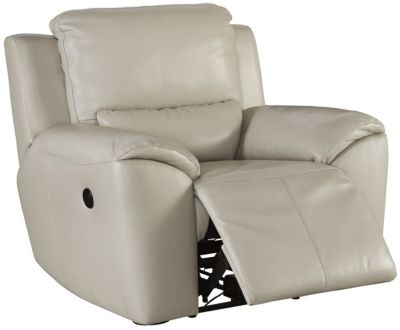 Ashley Valeton Leather Recliner