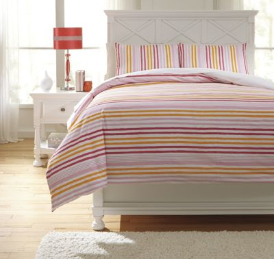 Ashley Genista 3-Piece Full Duvet Set