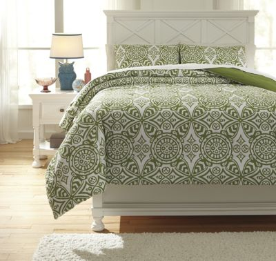 Ashley Ina 3-Piece Full Comforter Set