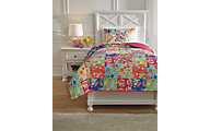Ashley Belle Chase Patchwork 2-Piece Twin Quilt Set