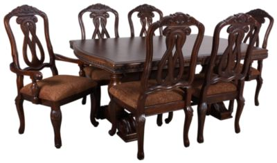 ashley north shore 7-piece dining set | homemakers furniture