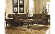 Ashley Fresco Bonded Leather Sofa & Loveseat Set