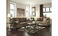 Ashley Larkinhust Sofa, Loveseat & 3 Pack of Tables
