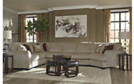 Ashley Hazes Armless Sofa 4-Piece Sectional