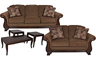 Ashley Montgomery Sofa, Loveseat & 3 Pack of Tables