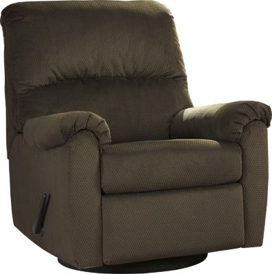 Ashley Bronwyn Brown Glider Recliner