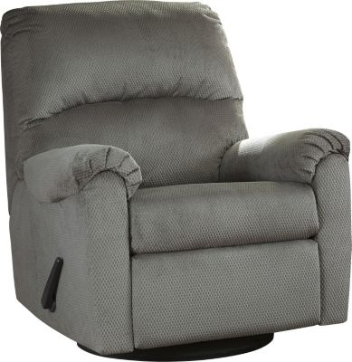 Ashley Bronwyn Gray Glider Recliner