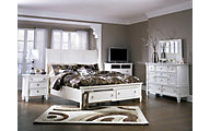 Ashley Prentice Queen Storage Bedroom Set