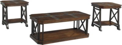 Ashley Vinasville Coffee Table & 2 End Tables