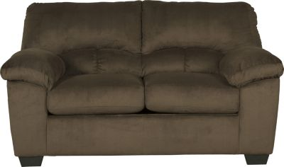 Ashley Dailey Chocolate Loveseat