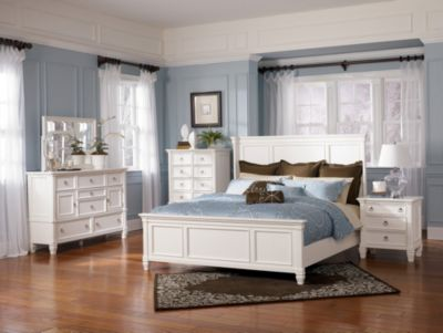 Ashley Prentice 4 Piece Queen Bedroom Set Homemakers Furniture