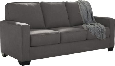 Ashley Zeb Charcoal Full Sleeper Sofa