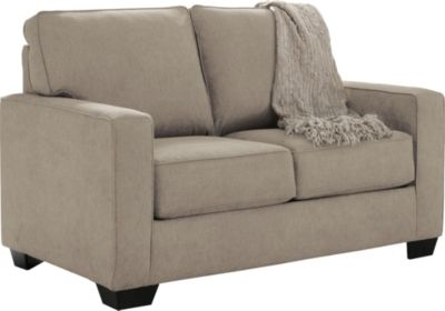 Ashley Zeb Quartz Twin Sleeper Loveseat
