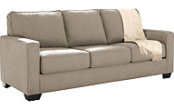 Ashley Zeb Cream Queen Sleeper Sofa