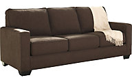 Ashley Zeb Espresso Queen Sleeper Sofa