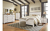 Ashley Willowton 4-Piece Queen Bedroom Set