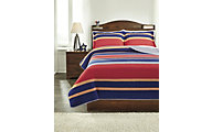 Ashley Damond 3-Piece Full Quilt Set