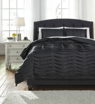 Ashley Voltos 3-Piece King Duvet Set