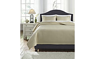 Ashley Dietrick Sand 3-Piece Queen Quilt Set