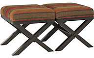 Ashley Fiera Ottomans (Set of 2)